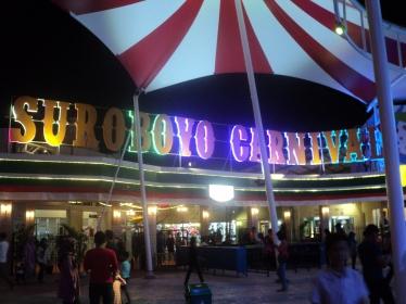 Pintu Masuk Surabaya CarnivaL Night