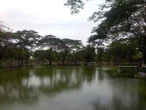 Telaga Taman Flora Wonorejo
